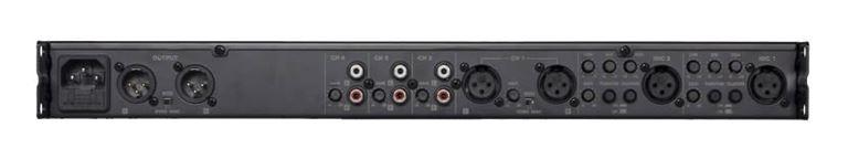 Audac PRE16 - 6-канальный стереофонический предусилитель