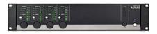Audac MTX48, 4-зонный матричный коммутатор с 2-мя входами микрофонного сигнала