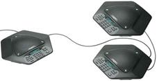 ClearOne MAXAttach IP plus one - Комплект из трех IP-телефонов для конференц-связи