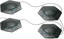 ClearOne MAXAttach IP plus two - Комплект из четырех IP-телефонов для конференц-связи