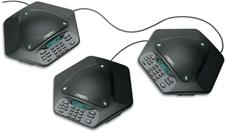 MAXAttach plus one - Комплект из трех аналоговых телефонов для конференц-связи