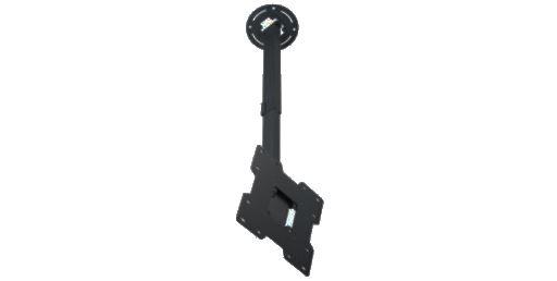 Peerless-AV PC932C - Телескопический потолочный кронштейн для ЖК-дисплея диагональю 15-37'' с удлинительной штангой 51-86 см, макс. нагрузка 36 кг
