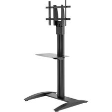 Peerless-AV SS560M - Напольная стойка для ЖК-дисплея диагональю 32-75'' с металлической полкой, макс. нагрузка 68 кг
