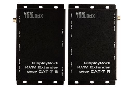 Gefen GTB-DPKVM-3CAT7-BLK - Удлинитель интерфейса DisplayPort и USB