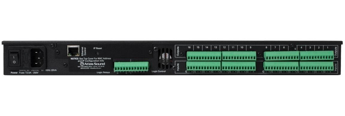 Atlas IED BB-1616 - Цифровой аудиопроцессор BlueBridge