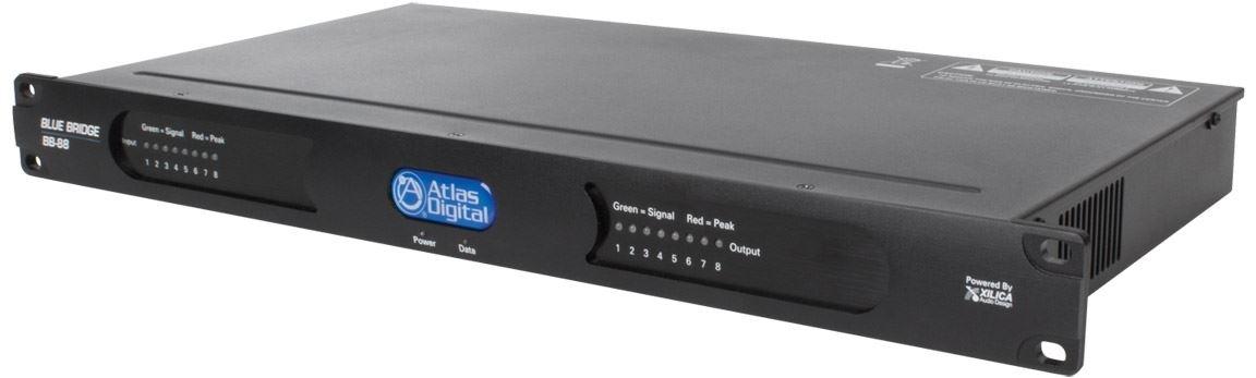 Atlas IED BB-88 - Цифровой аудиопроцессор BlueBridge, 8 входов/ 8 выходов