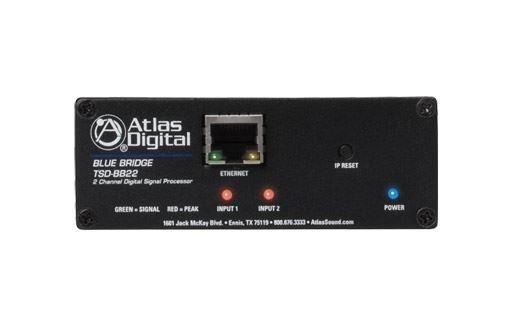 Atlas IED TSD-BB22 - Цифровой аудиопроцессор BlueBridge, 2 входа/ 2 выхода в корпусе TSD