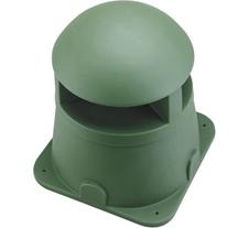 Atlas IED GST-G - Ландшафтная двухполосная акустическая система на высоком основании 32 Вт – 70 В / 8 Ом, цвет зеленый