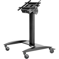 Peerless-AV SR575K - Низкая мобильная напольная стойка для ЖК-дисплея диагональю 32-75'' и массой до 68 кг с отсеком для медиаплеера