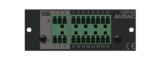 Audac FMP40 - Модуль воспроизведения файлов с USB для шасси XMP44