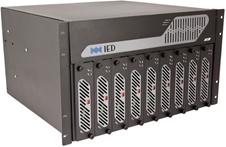 Atlas IED IEDT9160H - Шасси девятислотового усилителя мощности с DSP-процессором для системы оповещения GLOBALCOM, до 16 выходных зон