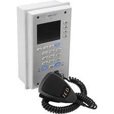 Atlas IED IEDA528VFM-H - Настенная программируемая 20-кнопочная интерактивная станция системы оповещения с микрофоном