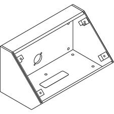Atlas IED IEDA528HBB - Угловая установочная коробка для установки микрофонной станции IEDA528HFM системы GLOBALCOM
