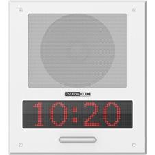 Atlas IED I8SCMF+ - Акустическая система с двухконусным диффузором 8'', встроенные усилитель 15 Вт, микрофон, светодиодный дисплей, проблесковый маячок