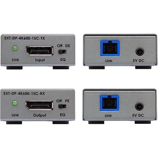 Gefen EXT-DP-4K600-1SC - Комплект приборов для передачи сигнала DisplayPort 1.2 по оптоволокну