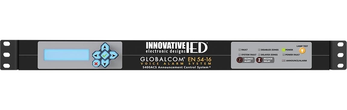 Atlas IED IED5400ACS - Основной контроллер системы оповещения GLOBALCOM 5400 с интегрированным сервером сообщений