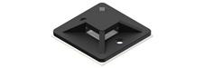 Procab ACM120/B - Крепления для кабельных стяжек, 20х20, цвет черный, упаковка 100 шт.