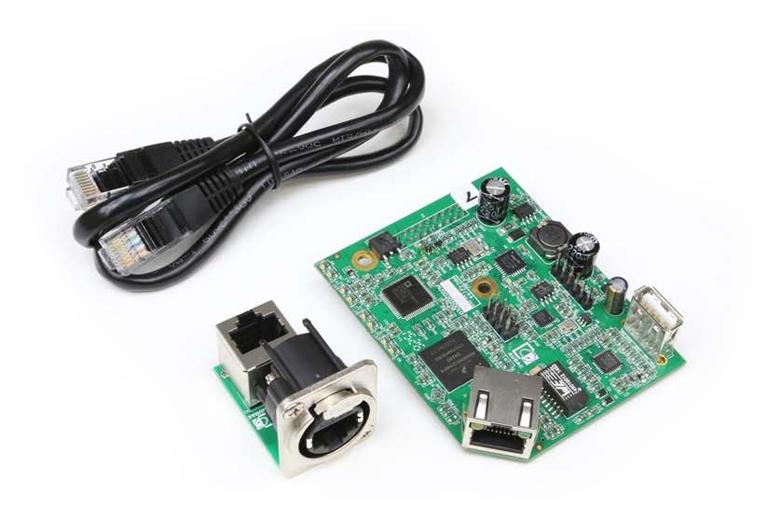 Audac ANI22 - Модуль сетевого интерфейса Dante для усилителей серии SMA