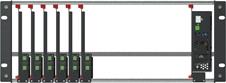 tvONE 1RK-4RU-KIT - Комплект ONErack для группового монтажа в рэковую стойку (шасси 4U, шесть модулей и общий блок питания)