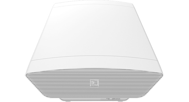 Audac NOBA8A/W - Компактный 8'' активный сабвуфер 100–200 Вт/8 Ом белого цвета с возможностью подключения сателлитов