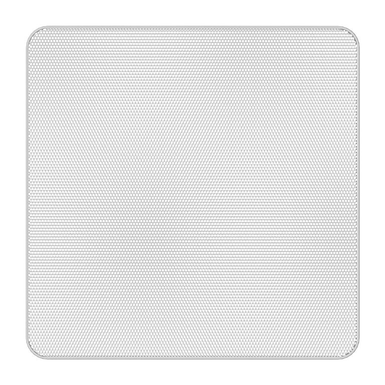 Atlas IED EGS33W - Квадратная декоративная решетка без окантовки для FAP33T-W, цвет белый