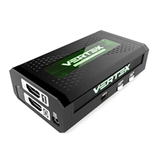 HKmod HDFURY VERTEX - Компактный матричный коммутатор 2х2 сигналов HDMI с конвертером HDCP 1.4/2.2 и масштабированием вверх или вниз
