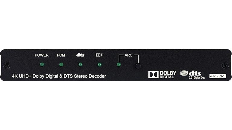 Cypress CPLUS-VPE2DD - Декодер цифрового аудио S/PDIF (TOSLINK) 48 кГц и аналогового стерео из сигнала HDMI 4096x2160/60 (YUV 4:4:4) c HDCP 1.4, 2.2