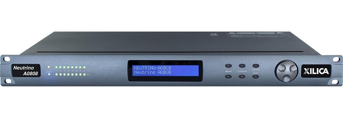 Xilica A0808 - Цифровой аудиопроцессор серии Neutrino с открытой архитектурой, 8х8 аналогового аудио