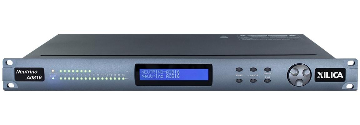 Xilica A0816 - Цифровой аудиопроцессор серии Neutrino с открытой архитектурой, 8х16 аналогового аудио