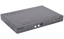 Gefen EXT-DPKA-LANS-RX - Приемник сигналов 4K DisplayPort, USB, RS-232, аудио и ИК из Ethernet