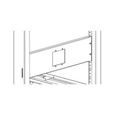 Xilica Mini-RM-1-Blk - Монтажный комплект для крепления одной настенной панели управления серии Mini в стойку