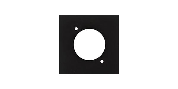 Audac CP45DSZ/B - Модуль настенной панели с отверстием