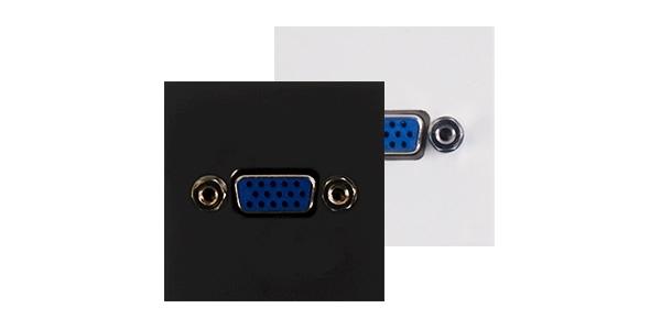 Audac CP43VGA - Панель для настенного монтажа с разъемом VGA (розетка), bTicino