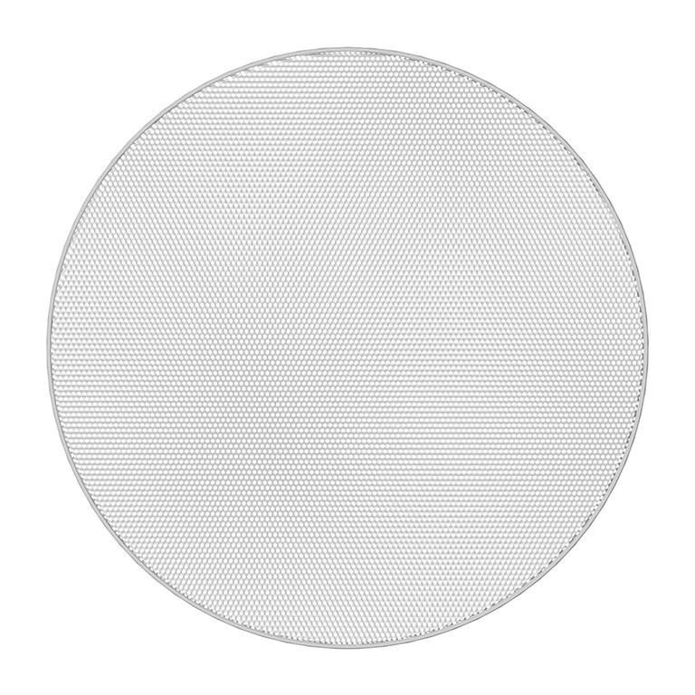 Atlas IED EGR63B - Круглая декоративная решетка без окантовки для FAP63T-W, цвет белый