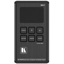 Kramer 861 - Генератор и анализатор сигнала HDMI, тестер кабелей, поддержка 4K60 4:4:4