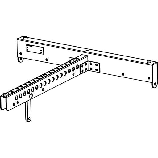 Axiom KPTAX2012P - Рама для подвеса или установки акустических систем AX2010A и AX2010P, черного цвета