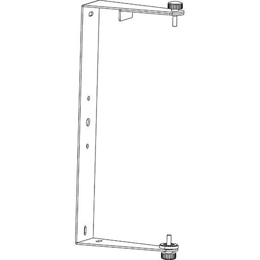 Axiom KPTED25WH - С-образный настенный кронштейн для установки ED25P, белого цвета