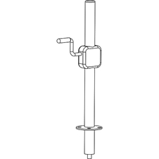 Axiom DHSS10M20 - Подъемный механизм для установки до двух AX800A на сабвуфер