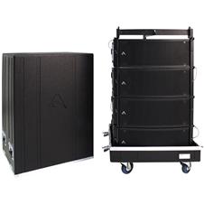 Axiom AXCASE05 - Транспортировочный кейс для четырех AX2065 + рамы-подвеса KPTAX2065