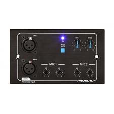 Proel PA LOC02 - Настенная панель с двумя входами микрофонов для PA MATRIX88