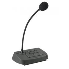 Proel PA BM08 - Пейджинговый микрофон на 8 зон для PA ZONE8