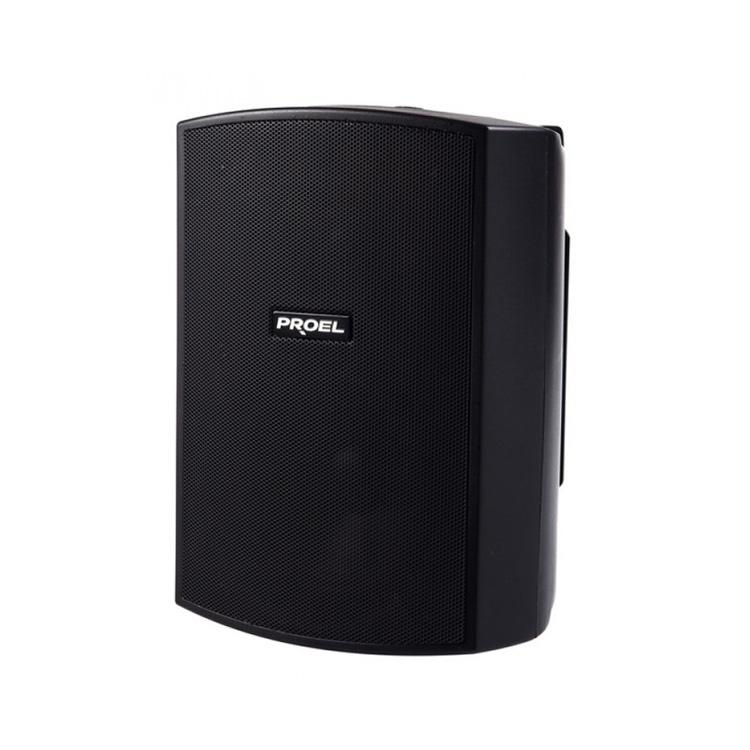 Proel XE35TB - Двухполосная настенная акустическая система 3.5'', 15 Вт – 100 В, 30 Вт – 8 Ом черного цвета