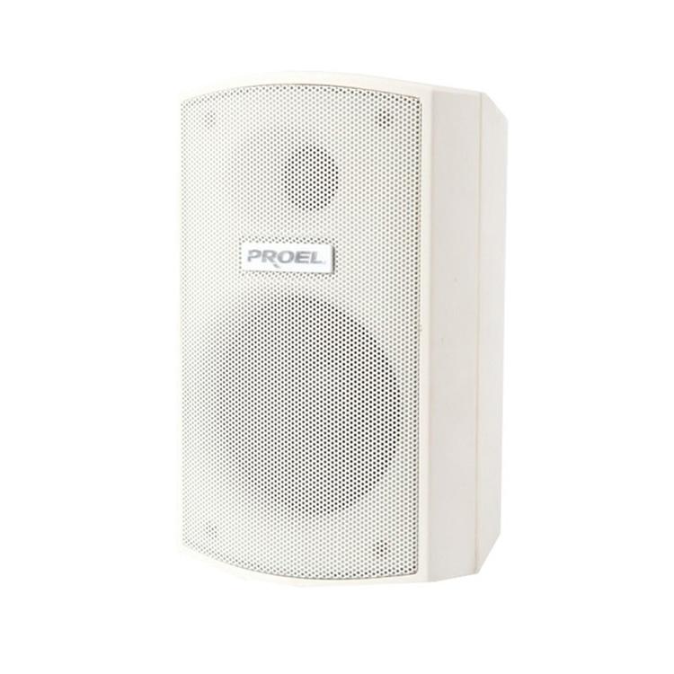 Proel XE35TW - Двухполосная настенная акустическая система 3.5'', 15 Вт – 100 В, 30 Вт – 8 Ом белого цвета