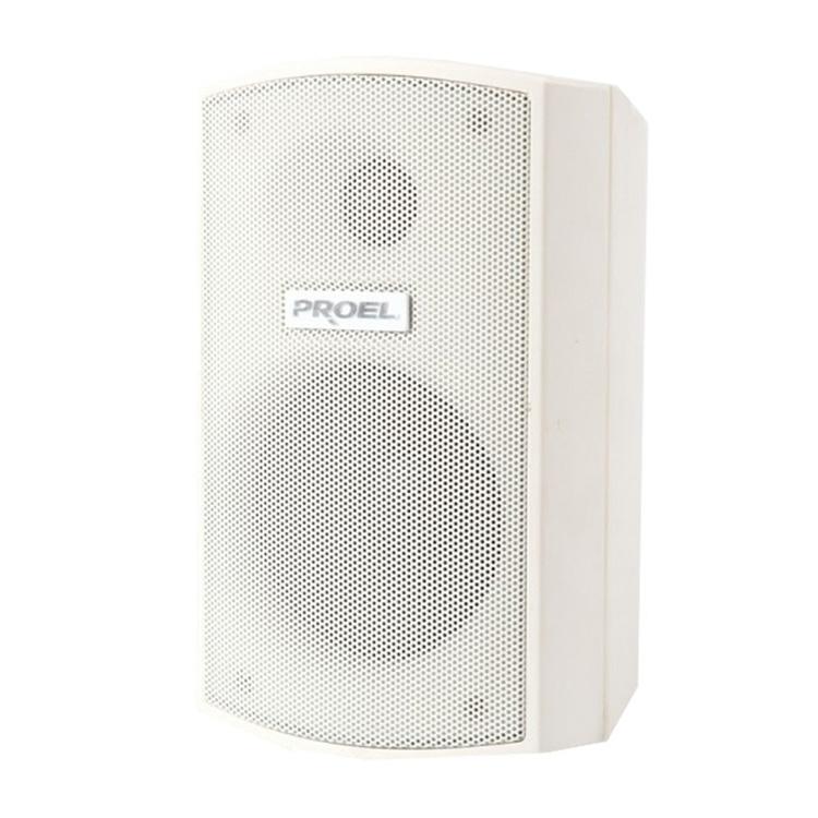 Proel XE55TW - Двухполосная настенная акустическая система 5'', 30 Вт – 100 В, 60 Вт – 8 Ом белого цвета