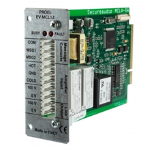 Proel PA EV MCL1Z - Зональный модуль для контроля усилителя/линии