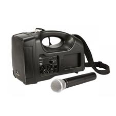 Proel PA FREE1 - 3'' двухполосная портативная система звукоусиления 35 Вт – 70 В с усилителем и радиомикрофоном, автономная работа 3 часа