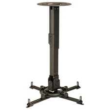 Peerless-AV PPC - Потолочный кронштейн для проектора до 22 кг, регулируемая штанга увеличенной длины