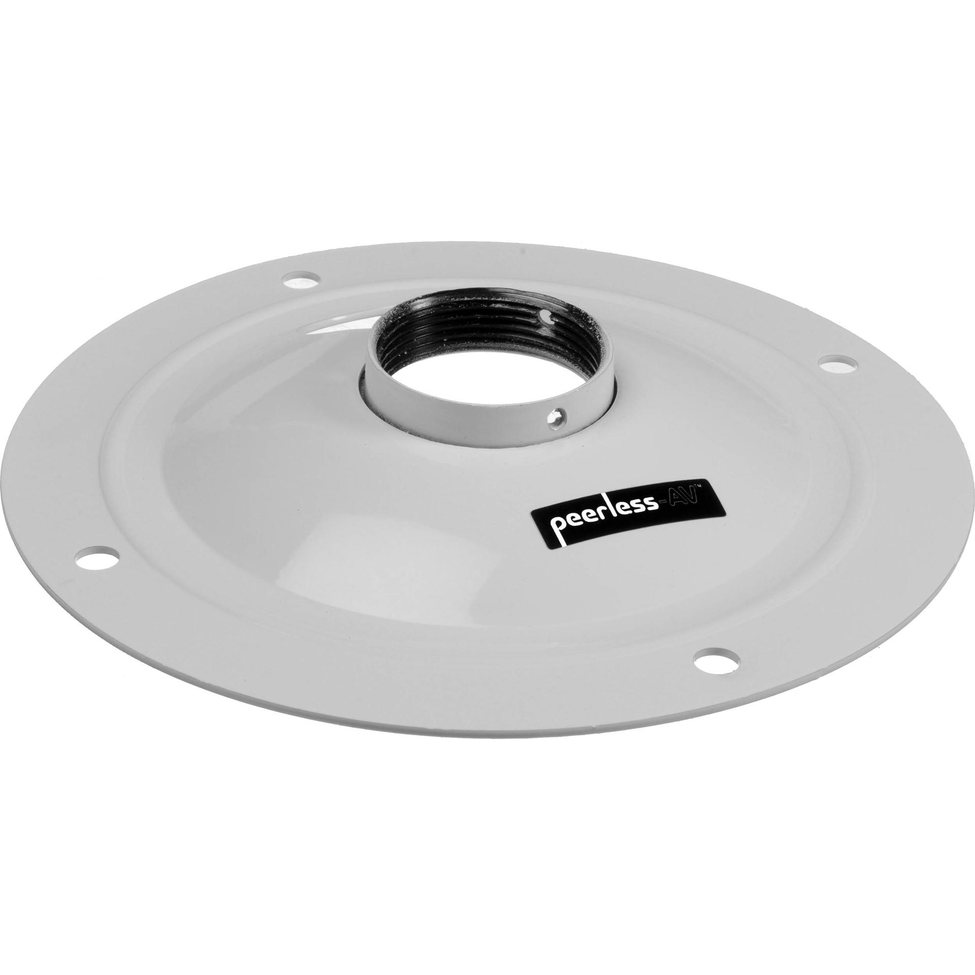 Peerless AV ACC570W - Круглый потолочный адаптер штанги 1,5'' для потолочного крепления проектора