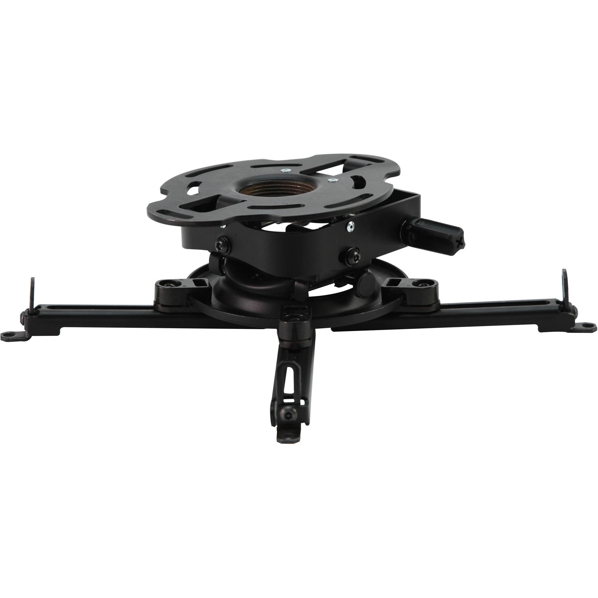 Peerless-AV PRGS-UNV - Универсальное крепление типа «паук» для проектора до 22 кг с адаптером к потолку или на штангу