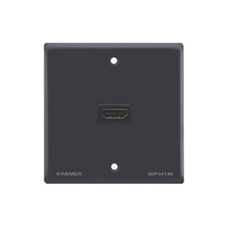 Kramer WP-H1M - Настенная панель-переходник с проходным разъемом HDMI